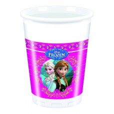 Disney Frozen Plastic Cups. Each pack contains 8 200ml cups.