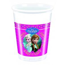 Disney Frozen Plastic Cups. Each pack contains 8 200ml cups.