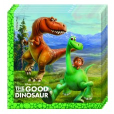 The Good Dinosaur 2 Ply Paper Napkins. Pack contains 20 napk