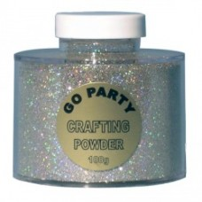 Holographic Silver Crafting Powder