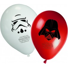 Star Wars & Heroes Party Printed Balloons