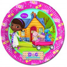 Doc McStuffins Paper Party Plates. These large plates are 23
