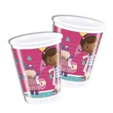 Doc McStuffins Plastic Cups. Each pack contains 8 200ml cups