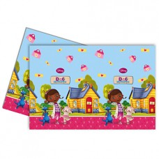 Doc McStuffins Tablecover. This rectangle shaped plastic tab