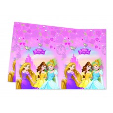 Disney Princess Tablecover. This rectangle shaped plastic ta