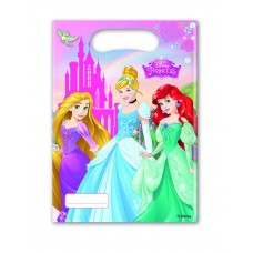 Disney Princess Party Bags. Pack contains 6 bags.
