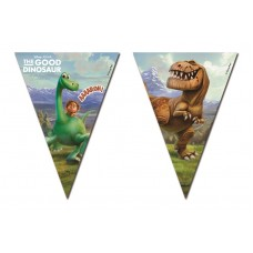 The Good Dinosaur Triangle Flag Bunting. The bunting contain