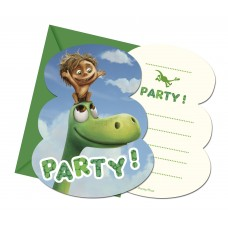 The Good Dinosaur Birthday Party Invitations. Pack contains