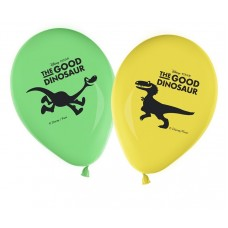 The Good Dinosaur Party Printed Balloons. Each pack contains