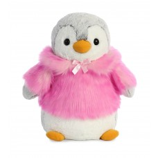 PomPom Penguin HP Pink 16In