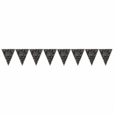 Plastic Pennant Bunting Happy Birthday