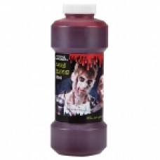 500ml Fake Blood Bottle - Red
