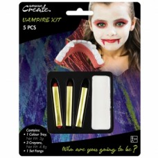 Face Paint Kit - Basic Vampire