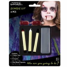 Face Paint Kit - Horror Zombie