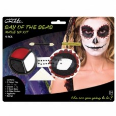 Face Paint Kit - Day of t Dead