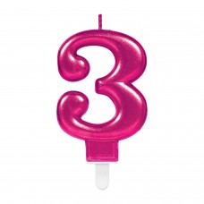 SPARK CELEB PINK CANDLE #3