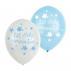 COMMUNION BALLOON:6pk 11Inch