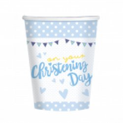 Christening Blue Cup 266ml