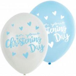 Christening Blue Balloons:6pk 11
