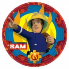 Fireman Sam 2017 Plate 23cm 8