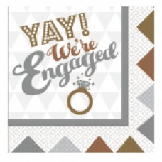 Engagement Lunch Napkin