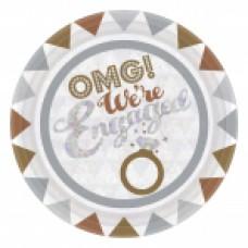 Engagement 23cm Plate