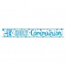 Banner 2.7m Holog Blue Comunon