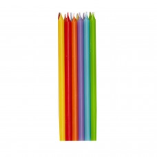 CANDLES TAPER RAINBOW