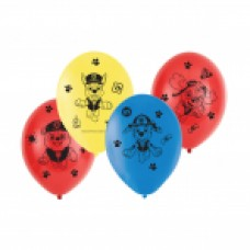 BALLOON: Paw Patrol 4-side pk6