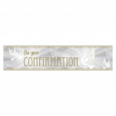 Confirmation Foil banner