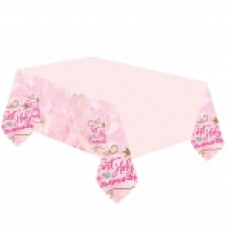 1st Holy Communion Tablecover Pink