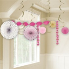 First Holy Communion Pink Decoration Kits