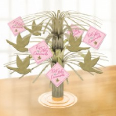First Holy Communion Pink Centerpieces