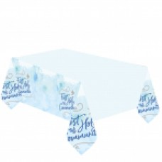 1st Holy Communion Tablecover Blue