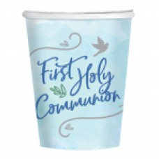 First Holy Communion Blue Cups