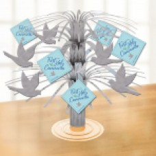 First Holy Communion Blue Centerpieces