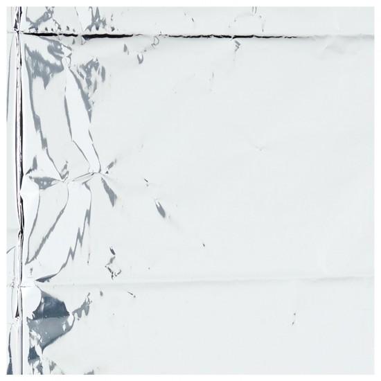 Metallic Silver Tablecover 1.8m x 1.2m - 6 PC