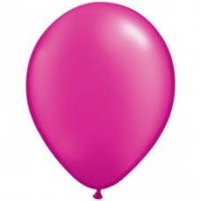 Magenta 5 Inch latex balloons pack of 100