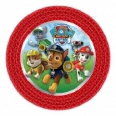 Paw Patrol 8 plates round