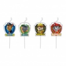 Paw Patrol mini figure candles
