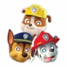 Paw Patrol 8 paper masks