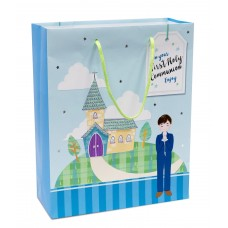 A4 Blue Boy Gift Bag