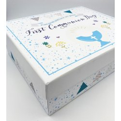 COMMUNION TROVE Communion Boy Keepsake Box