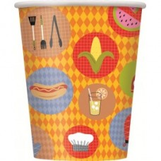 Barbecue Cookout Paper Cups