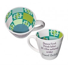 """""DANCE FIRST THINK LATER"""" ISO MUG"