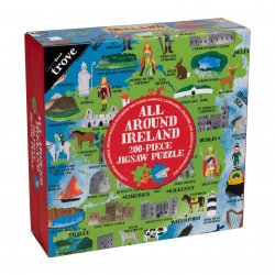 All Around Ireland  Map Kids Jigsaw