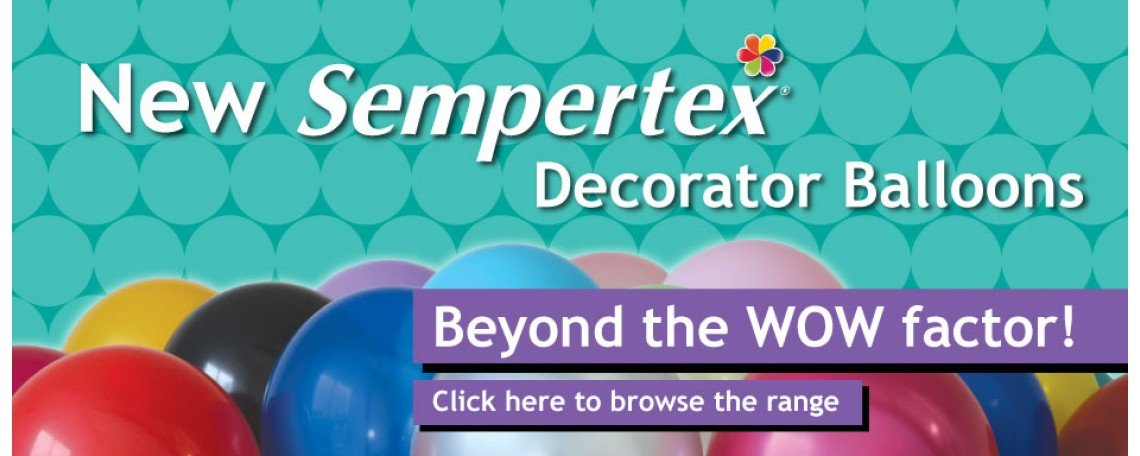 SEMPERTEX DECORATOR BALLOONS