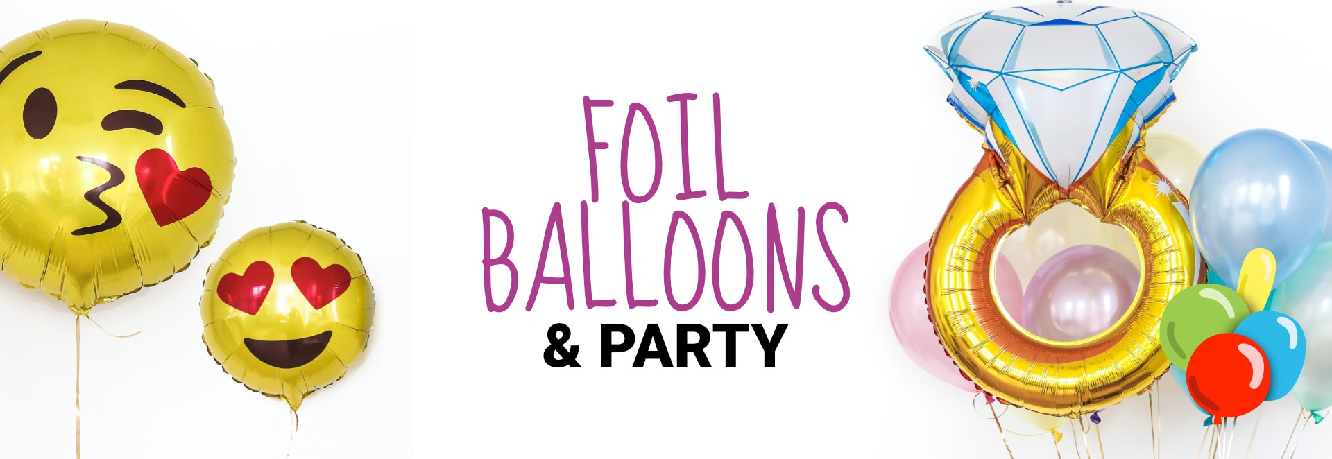 Foil Balloons and Party
