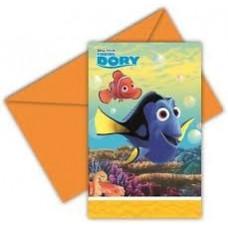 Finding Dory Invites