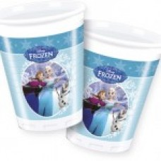 Frozen Ice Skate Cups 8 x  200ml